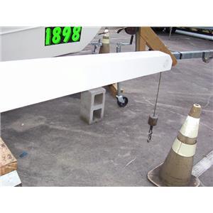 Boaters Resale Shop of TX 1710 1252.01 NAUTICAL STRUCTURES EZ-1500 POWER DAVIT