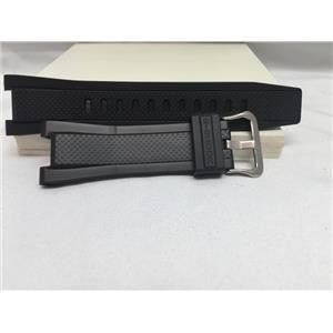 Casio Watch Band GST-B100 For G-Steel Bluetooth. Black Resin Strap/Watchband