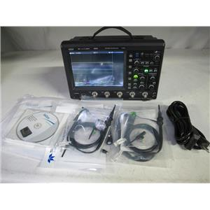 LeCroy WaveJet 354A Oscilloscope 500MHz 4 chan 1GS/s 500kpts/ch, 4 PP006A probes