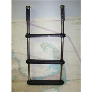 Boaters' Resale Shop of TX 1711 1724.02 WINDLINE 3 STEP TELESCOPING BOAT LADDER