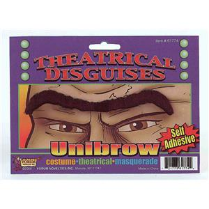 Black Self Adhesive Fake Unibrow Eyebrow