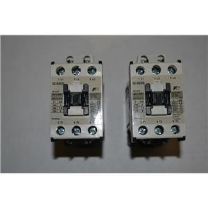 (LOT OF 2) FUJI ELECTRIC SC-E05/G CONTACTOR 32AMP 24VDC COIL