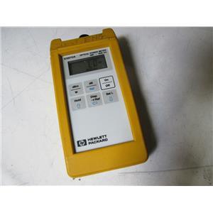 Agilent HP E5970A Handheld Optical Power Meter