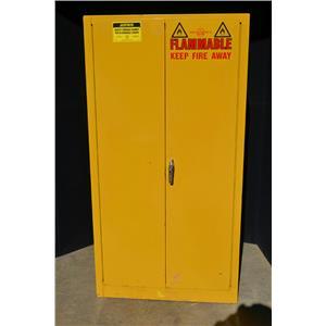 Justrite 60 Gallon Fire Safety Cabinet, 25600