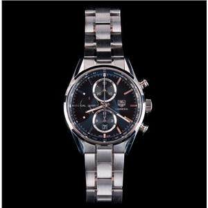 Tag Heuer Carrera Stainless Steel Wrist Watch With Chronograph & Tachymeter