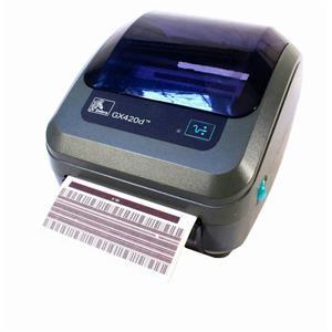 Zebra GX420d GX42-202411-000 Direct Thermal Barcode Printer USB Network Peeler