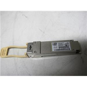 Cisco QSFP-40G-SR4 40GBASE-SR4 QSFP Transciever module, Genuine