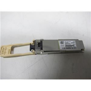 Cisco QSFP-100G-SR4-S 100GBASE SR4 QSFP Transceiver Module 10-3142-01, Genuine