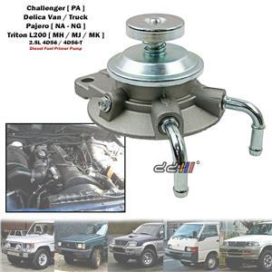 Diesel Fuel Filter Primer Pump For Mitsubishi Pajero L044 L049 2.5L 4D56 Diesel