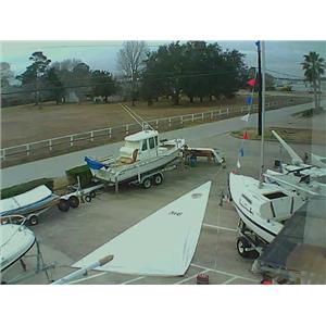 Dacron Mainsail w 31-11 Luff from Boaters' Resale Shop of TX 1712 0275.93