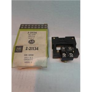 Allen-Bradley Z 21134 Allen Bradley 21134 Coil Cover Size 1&2 Contactor