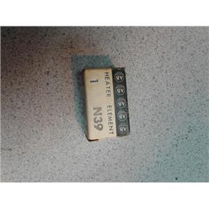 Allen-Bradley N39 Heater Element