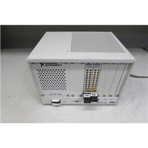 National Instruments NI PXI-1033 CHASSIS w/ two PXI-2593