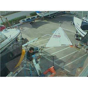 Laser Mainsail w 16-6 Luff from Boaters' Resale Shop of TX 1712 1124.91