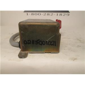 Audi SRS air bag control module 0285001021