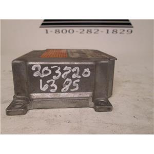 Mercedes SRS air bag control module 2038206385