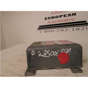 Audi SRS air bag control module 0285001039 8A0959655D