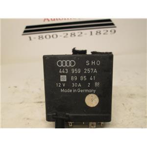 Audi window relay 443959257A