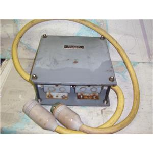 Boaters Resale Shop of TX 1802 0272.01 WARD'S 50A SHOREPOWER BOOST TRANSFORMER