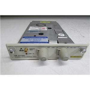 Agilent Keysight 37776A 155/622Mb/s Optical Interface 1310nm, Opt 014