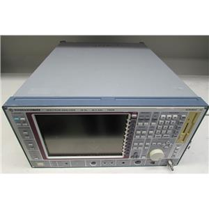 Rohde & Schwarz FSEM Spectrum Analyzer, 20Hz-26.5GHz,1079.8500.30, opt B4, B5