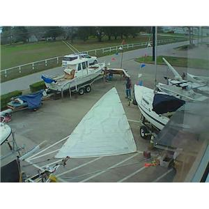 U.K. Mainsail w 35-3 Luff from Boaters' Resale Shop of TX 1801 0724.95