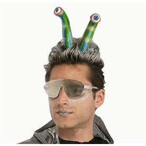 Alien Eye Tentacles Elastic Headband Costume Accessory