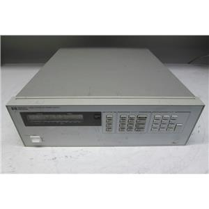 Agilent HP 6626A Precision System Power Supply, 25W or 50W, 4 outputs