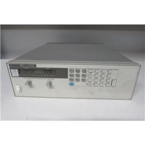 Agilent HP 6654 500 Watt System Power Supply, 60V, 9A  (ref: db)