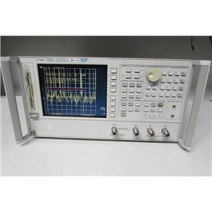 Agilent 8753ES S-parameter Network Analyzer, 6 GHz, 1D5, 002, 006, 011 (ref: db)