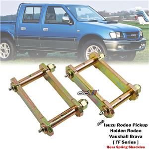 """2"""" 50mm Rear Lift Kit Greasable Shackle For Isuzu Holden Rodeo TF 1988-2002"""
