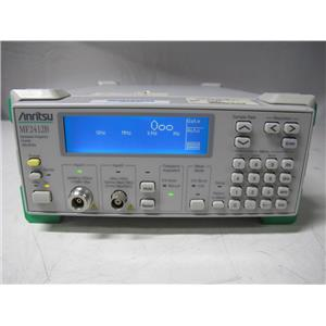 Anritsu MF2412B Microwave Frequency Counter, 10 Hz to 20 GHz, opt 01