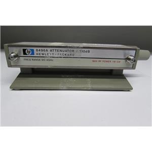 Agilent HP 8496A Manual Attenuator, 4 GHz, 110 dB, Opt. 002