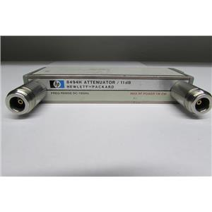 Agilent HP 8494H Programmable Step Attenuator,  DC - 18GHz, Opt 001