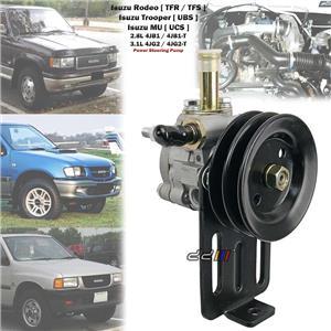 Power Steering Pump For Isuzu Bighorn Trooper Holden Jackaroo 4JB1 4JG2 Diesel