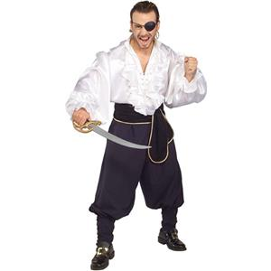 Swashbuckler Adult Pirate Deck Hand Costume