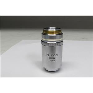 Nikon M PLAN 100, 100x 0.90 Dry, Microscope Objective Lens