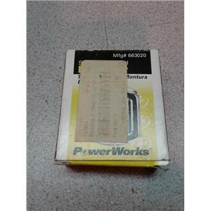 Powerworks 663020 Surface Mounted Buzzer