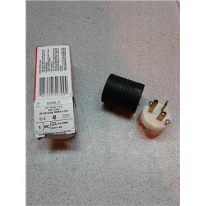 Legrand 5466X 20A, 250V Extra-Hard Use Spec-Grade Plug, Black & White