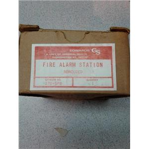 Edwards Signaling 270SP0 Fire Alarm Station