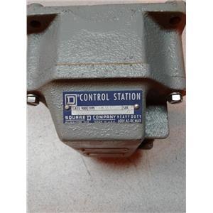Square D GW203 Control Station Class 9001 Heavy Duty 600V Ac-Dc Max