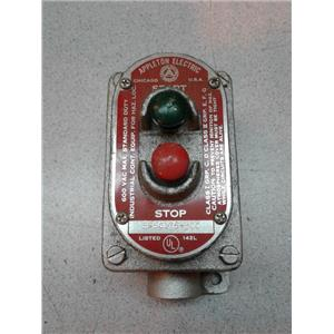 Appleton Electric EFSC175M0C Start Stop Switch
