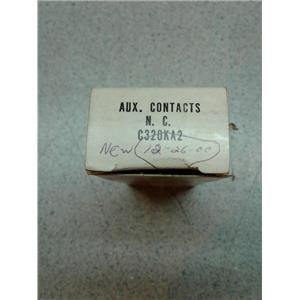 Eaton C320KA2 Cutler Hammer Auxiliary Contact Series A2