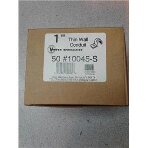 """Victor Specialties 10045S 1"""" Thin Wall Conduit Box Of 50"""