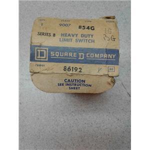 Square D B54N2 Heavy Duty Limit Switch Series B