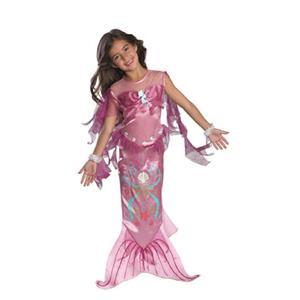 Pink Mermaid Toddler Child Girls Costume Size 2-4