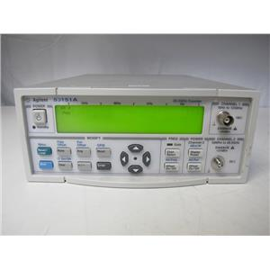 Agilent 53151A CW Microwave Counter, 10 Hz to 26.5 GHz