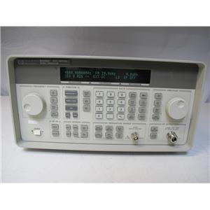 Agilent HP 8648D Synthesized Signal Generator, Opt 1E5 1EA 1E2