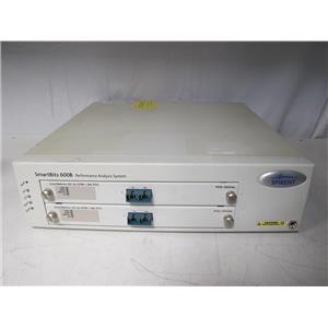 Spirent SmartBits SMB-600B Data Traffic Generator w/ two POS-3502As (ref: db)