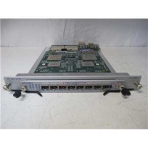 Spirent FBR-1001A 1GbE Fiber SFP 8-Ports Load Module w/ ACC-2090 Adapter Board